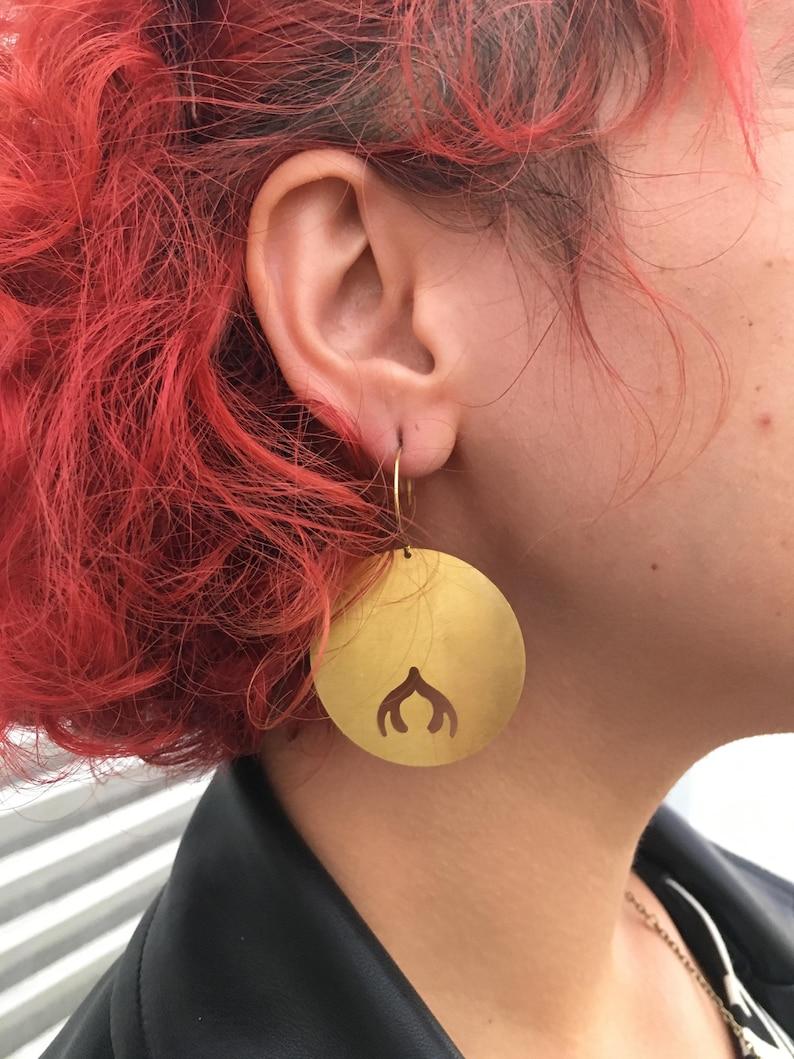 Full Cherry Bomb earrings image 0