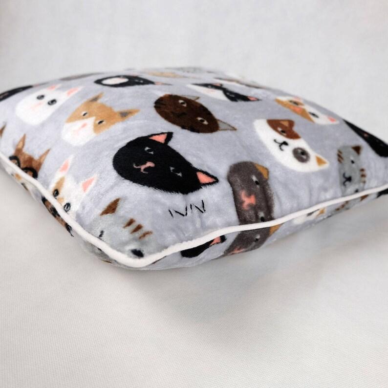 Cushion cover  CAT  white border baby gift child gift image 0