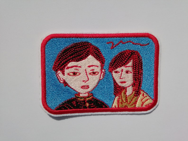 School Days Patch Embroidery Uprique Home Made Embroidery Iron Patch Quady Old School Japanese
