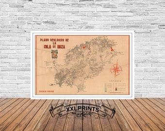Ibiza map | Etsy on arenys de mar map, cala salada map, canary islands map, ciutadella de menorca map, balearic islands map, places to visit map, mallorca map, europe map, spain map, costa brava map, islas baleares map, pitons map, minorca map, navagio map, crete map, gaucin map, alcoy map, world map, talamanca map, amiens cathedral map,