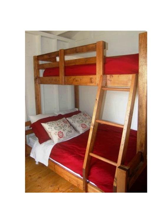 Diy Bunk Bed Plan To Build Your Own, Diy Bunk Beds Twin Over Queen