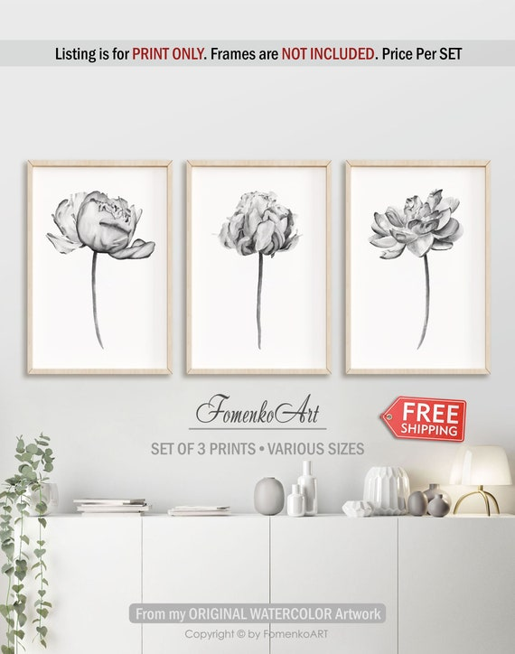 Modern Farmhouse Wall Decor Prints Wall Art Farmhouse Decor Etsy