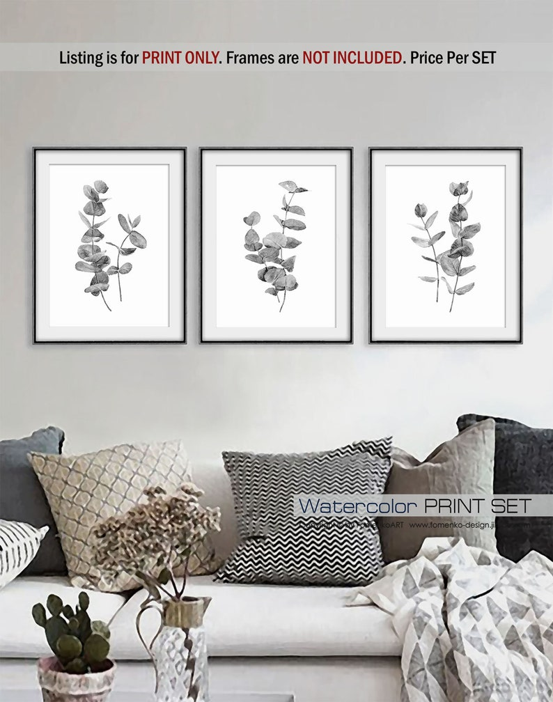 Modern farmhouse decor ideas are a hot commodity. Because let's face it, decorating a modern farmhouse {or any other house} can seem overwhelming to most of us. Botanical art prints are the perfect decor accessory for your living room!