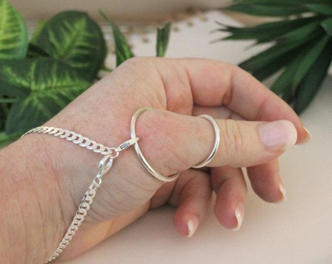 925 Silver Midsplint™ and Bracelet - MCP Hyperextension - Adjustable - Lifetime Warranty
