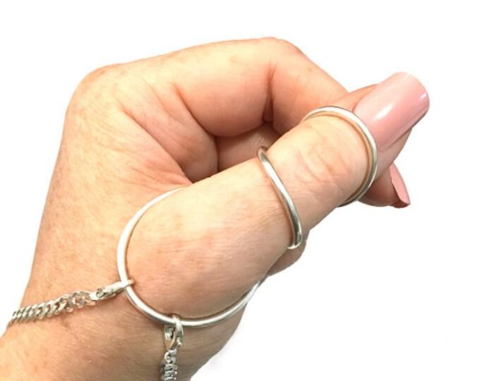 925 Silver Helixsplint™ and Bracelet - MCP IP Hyperextension - Adjustable - Lifetime Warranty