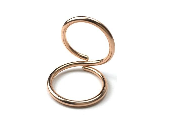 14k Rose Gold Filled Hypersplint™ - Swan Neck Hypermobility EDS - Adjustable - Lifetime Warranty