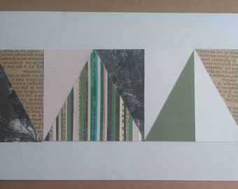 Paper Geometric - Pink Space Series - Number 3