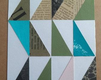 Paper Geometric - Pink Space Series - Number 2