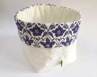Panier de rangement tissu, design original de tissu lithographiée