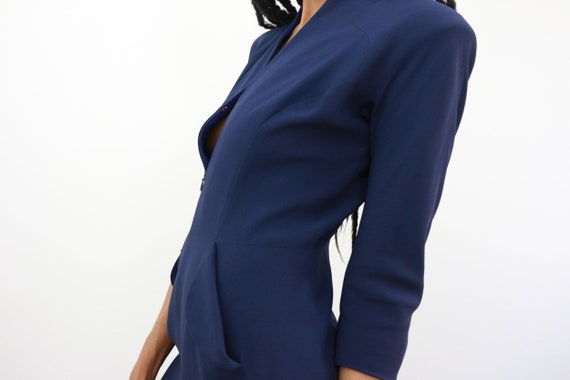 ALEXANDER MCQUEEN, Blue Dress