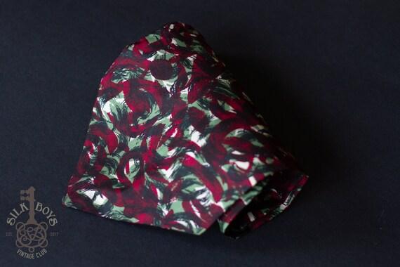 White, Green, Burgundy Dark Red and Black Stiff 10