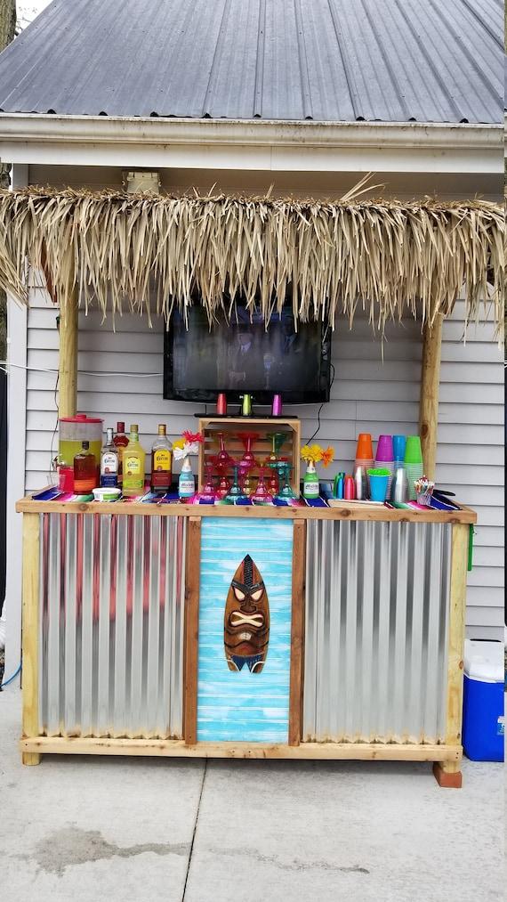 Tiki Bar And Outdoor Furniture, Outdoor Tiki Bar Chairs