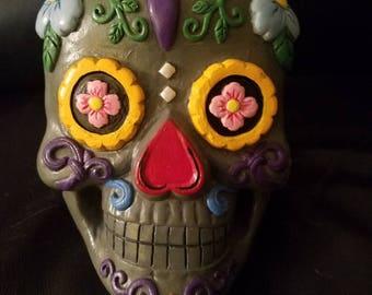 Sugar skull home decor