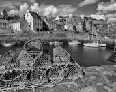 Crail harbour Fine Art Print