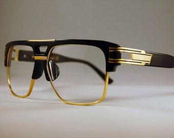 f8cf45eeb01 Flat Top Square Clear Lens Glasses Retro Alternative