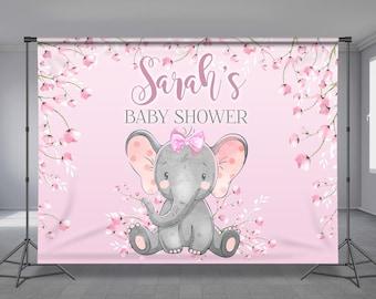 Baby Shower Backdrop Etsy