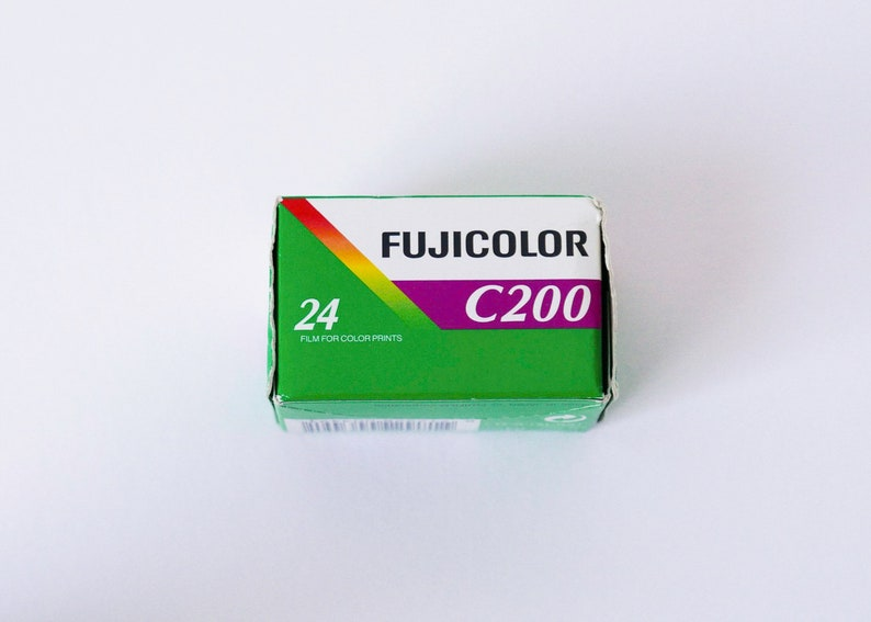 Expired Fujicolor C200 film
