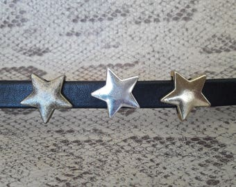 Passing star for leather 10 mm to 12 mm