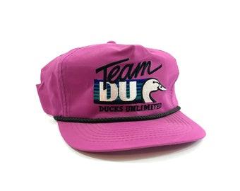 vintage ducks unlimited trucker snapback hat  0010cc63820