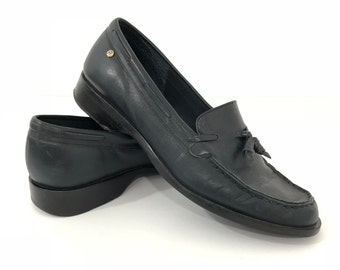 84fbb4665d474 vintage leather loafers