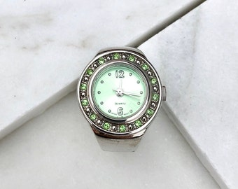 vintage watch ring | jewelry | antique watch ring