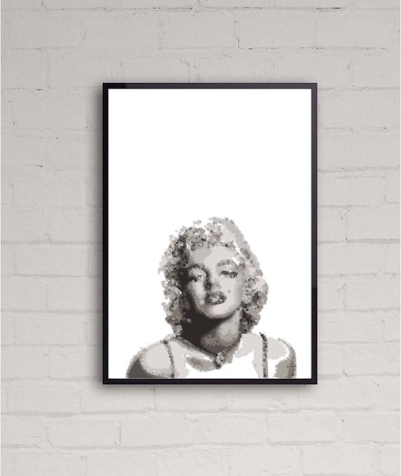 "Marilyn Monroe poster wall art home decor photo print 16/"" 20/"" 24/"" sizes"