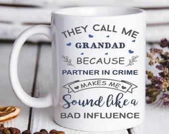 Grandad is Not Sleeping He is Resting His Eyes Funny Coffee Tea Travel New Present Mug