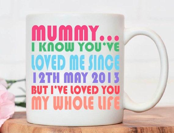 Mother/'s Day Mug Coaster Matching Set Gift Personalised Grandma Nana Granny