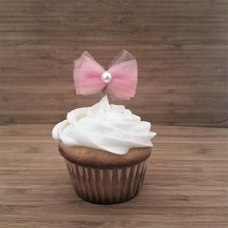 Princess Baby Shower Cupcake Decorations Ballerina Birthday