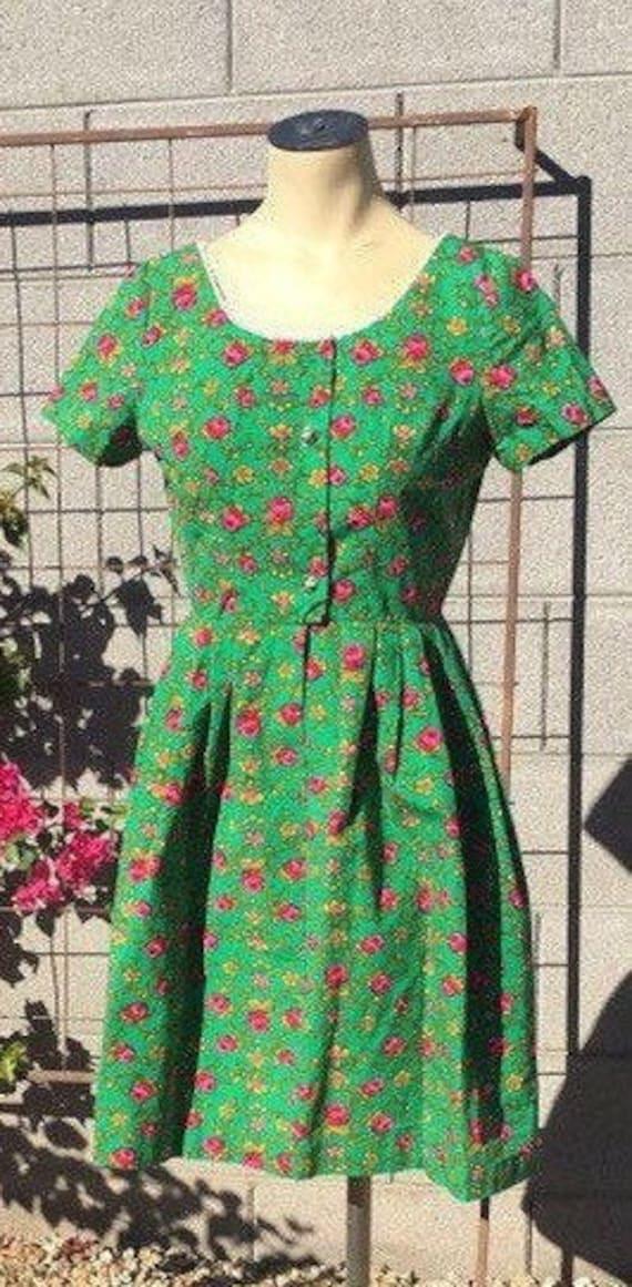 Vintage 1960s thigh high dress