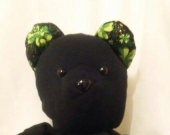 Stuffed Black Bear Etsy