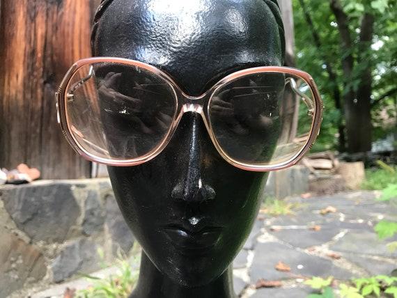 Vintage 1970's French Faberge Eyeglasses Frames
