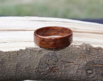 Silky Oak Bentwood Ring