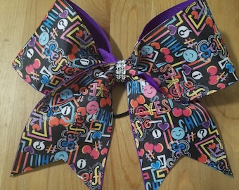Graphic Tween Cheer Bow Design