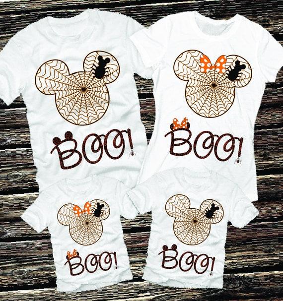 1f9bc4d1854 Boo Disney Shirts Family Halloween Shirts Matching Halloween