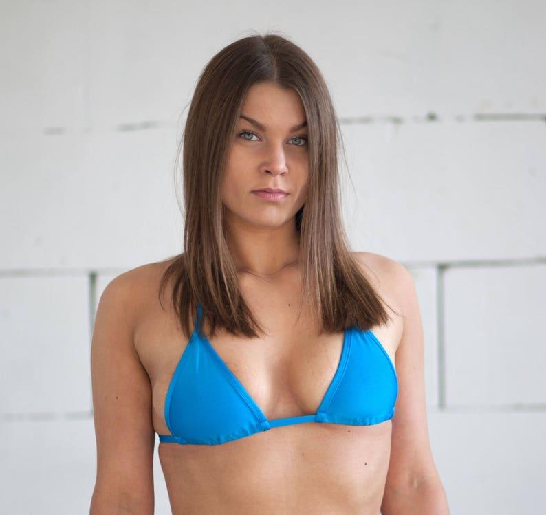 Bikini Mini Swimwear Blue Extreme Top Micro Bra Color WdCQxroBe