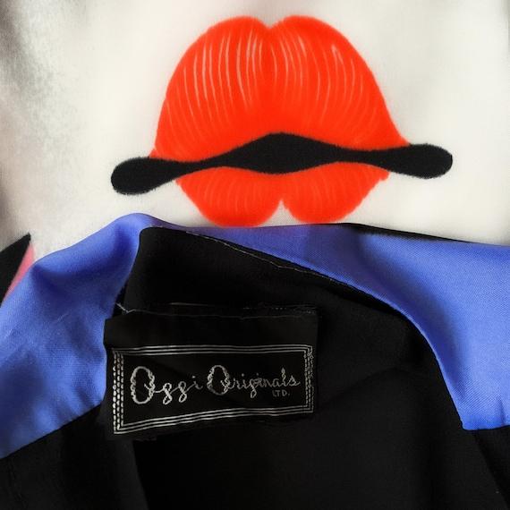 Ossi Originals Loungewear Set 70s Asian Kimono Bl… - image 5