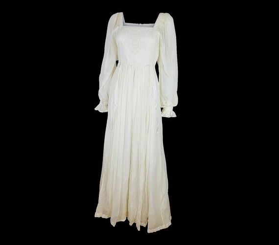 Gorgeous RUMAK + SAMPLE Dress Ivory White Wedding