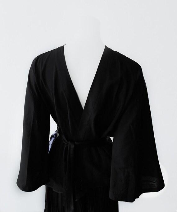 Ossi Originals Loungewear Set 70s Asian Kimono Bl… - image 7