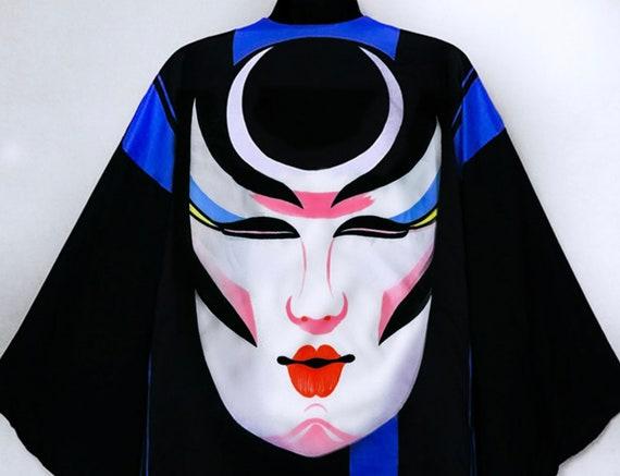 Ossi Originals Loungewear Set 70s Asian Kimono Bl… - image 9