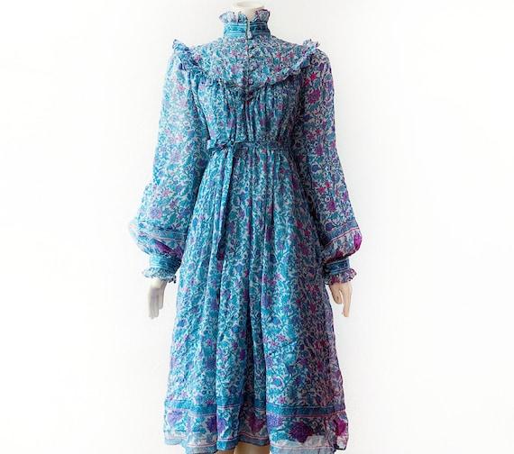 Ritu Kumar 100% Silk Indian Dress Vintage Designer