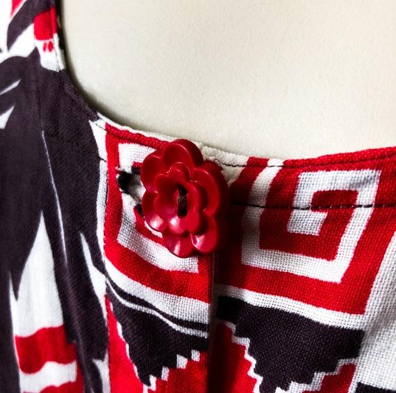 Rare 1940s Mexican Dress Vintage Mexico Petticoat… - image 3