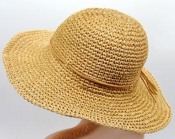 6a8c176515acc Crochet summer hat