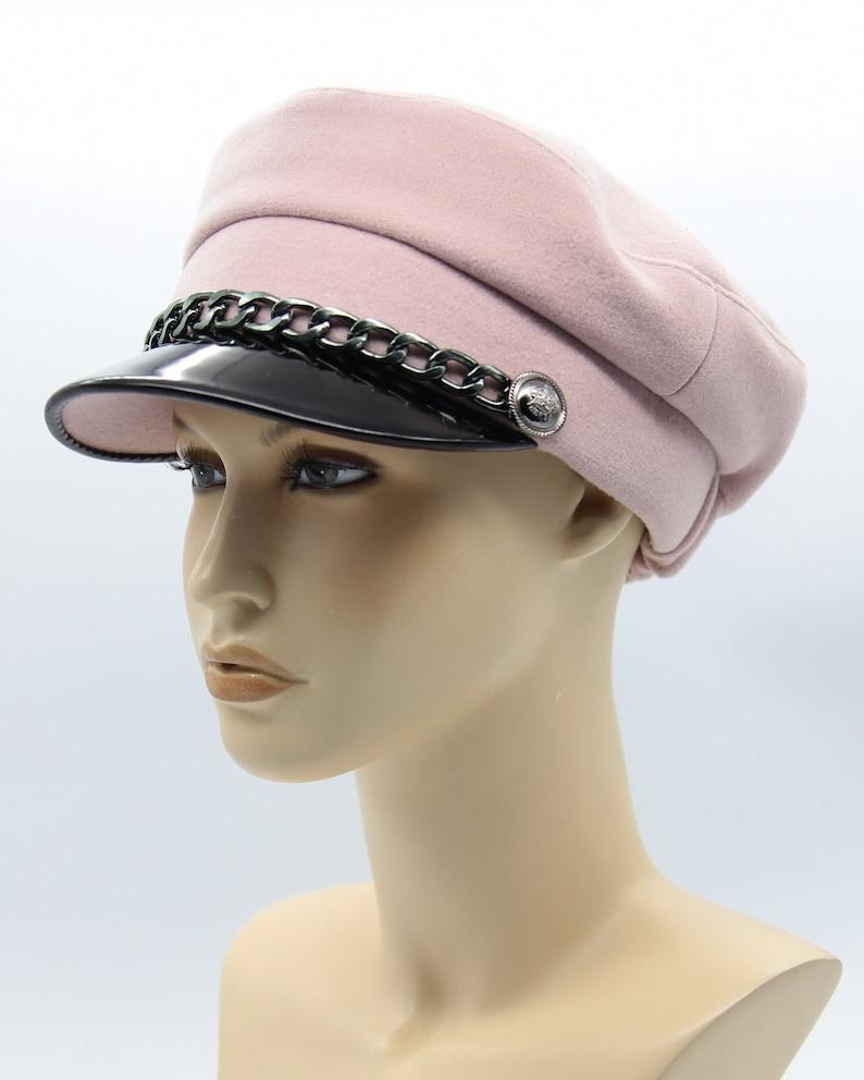 4df9b12f Girls Baker Boy Hat Breton Hat John Lennon Cap Baker Boy | Etsy
