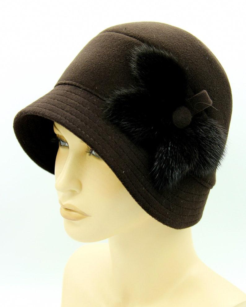 women cloche hat cloche hat vintage cloche hat woman vintage cloche hats women/'s cloche hats Hat cloche Vika vintage cloche.
