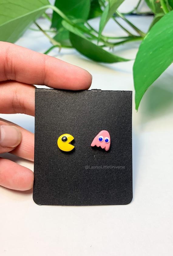 ** ~ Pac Man Pulsera ~ Retro Fimo Bead Lindo ~ **