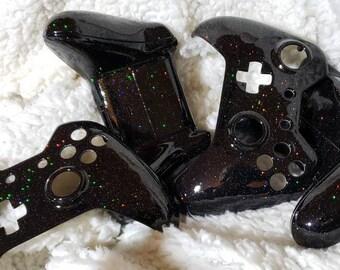a2738589b459df Galaxy Sparkle Xbox One Controller Shell (aerospace grade)