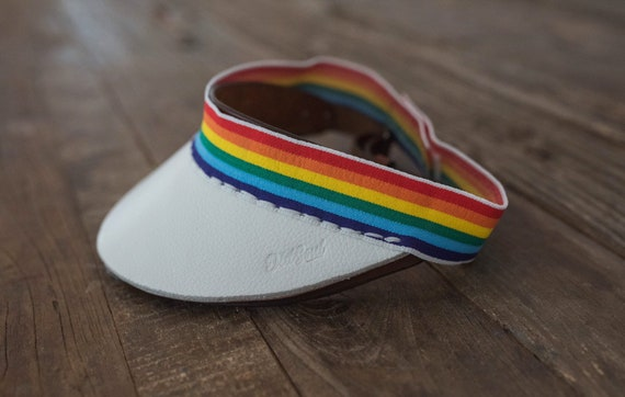 Reflex Collection from Old Soul Visors ORIGINAL Cut Rainbow Visor