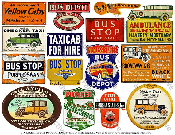 Vintage Advertising, 65 Images on 5 Digital Download Sheets, Advertising  Signs for Junk Journals, Scrapbook Paper, Rusty Metal Sign Art Tags