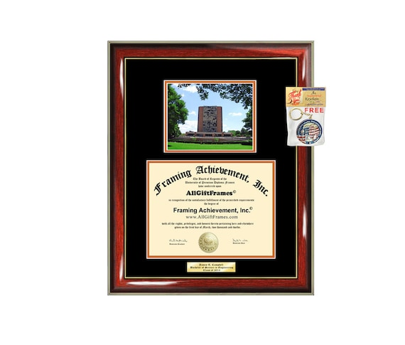 Bowling Green State University Diploma Frame Degree Bgsu Etsy